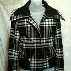 Levi's Plaid wool 70s Trucker jacket retro fun!